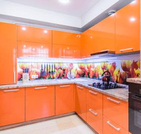 Фото кухни по дизайн-проекту